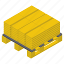 cardboard box, delivery box, logistic delivery, packages, packets, parcels icon