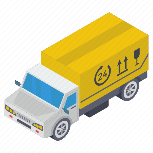 breakable parcel, delivery van, fragile box, fragile delivery, fragile package, fragile parcel icon