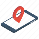 geolocation, map location, online gps, online location, online navigation icon