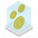 bitcoinchain, coin box, cryptocurrency, digital currency, litecoin icon