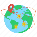 geolocation, global direction, global location, gps, navigation icon