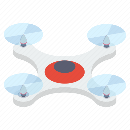 airdrone, flying drone, multirotor, nanocopter, quadcopter icon