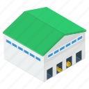 depository, stockroom, storehouse, storeroom, warehouse icon