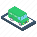 online cargo, online delivery, online order, online purchasing, order booking icon