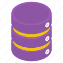 data hosting, data storage, datacenter, dataserver, dataserver rack icon