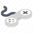 game controller, gamepad, joystick, remote controller, video game equipment, volume pad icon
