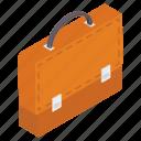 attache, briefcase, office bag, portfolio, suitcase