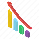 bar chart, bar graph, business graph, business growth, data analytics, growth chart icon