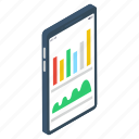 business growth, business infographic, business statistics, mobile analytics, online data analytics icon