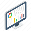 business growth, business infographic, business statistics, online data analytics, web analytics icon