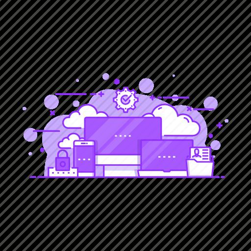 cloud, computer, computing, data, server, storage icon