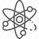 atom, chemistry, education, experiment, molecule, research, science icon