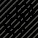 gear, gears, setting icon