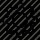 cog, gear, setting icon