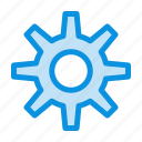 gear, setting, wheel icon
