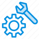 gear, setting, wrench icon