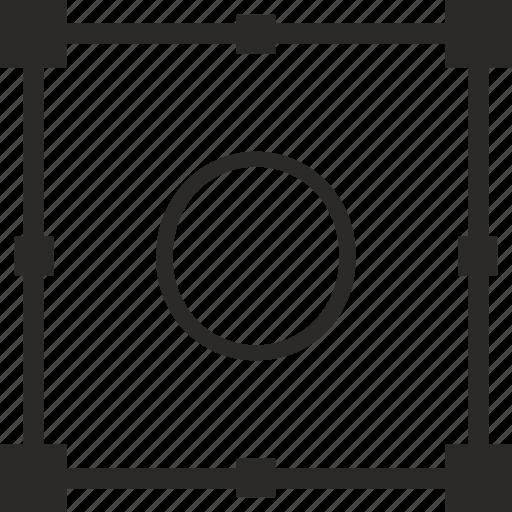 key, keyboard, letter, o, transform icon