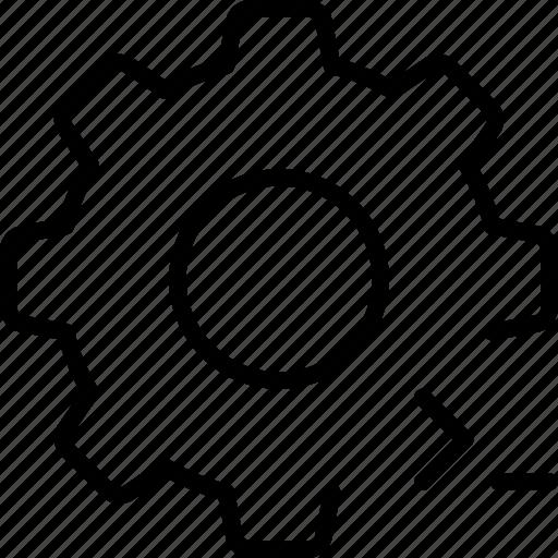 Code, cog, mechanic, program, wheel icon - Download on Iconfinder
