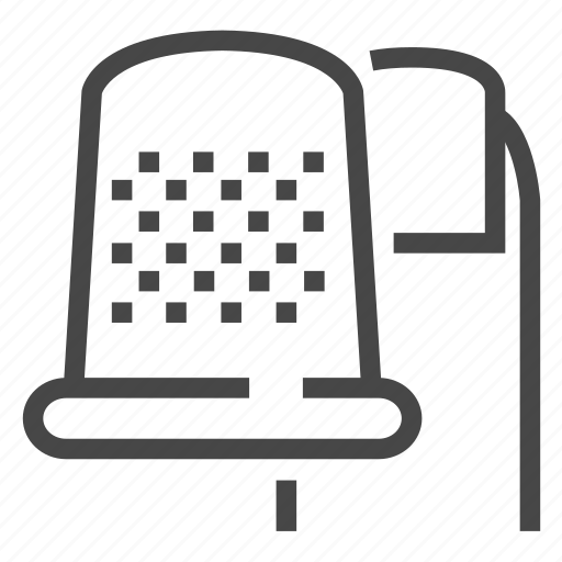 Equipment, sewing, thimble icon - Download on Iconfinder
