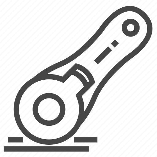 Cutter, equipment, machine, rotary, sewing, tool icon - Download on Iconfinder