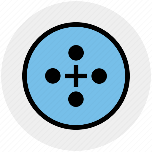 Buttons, cloth button, sewing, tailor, tailoring icon - Download on Iconfinder