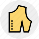 checked cloth, cloth, cutting, dress, fabric, sample icon