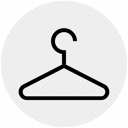 Clothes hanger, fashion, hanger, shop, tailor icon - Download on Iconfinder