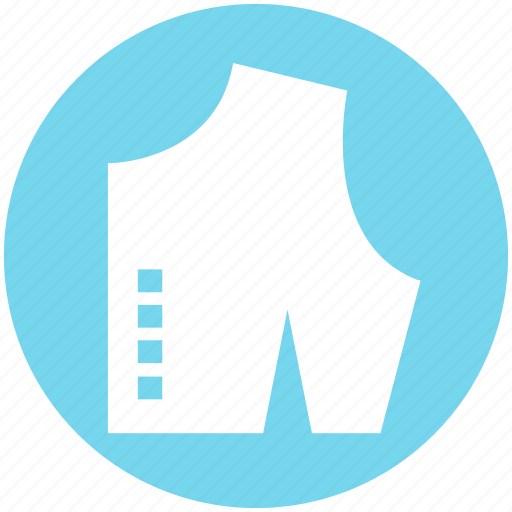 Checked cloth, cloth, cutting, dress, fabric, sample icon - Download on Iconfinder