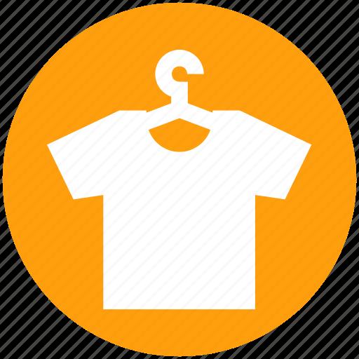 Clothes, dress, hanger, shirt, wardrobe icon - Download on Iconfinder