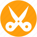 cut, cutter, edit, scissor, sewing, tailoring icon