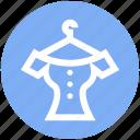 cloth, dress, dress hanger, fashion, frock, hanger