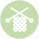 knit, machine, needles, sewing, tailoring icon