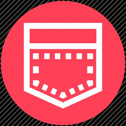 Dress pocket, pocket, sewing, shirt pocket, tailoring icon - Download on Iconfinder