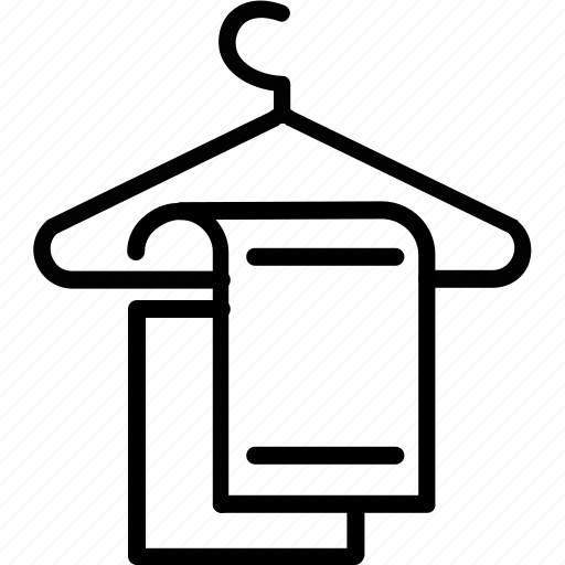 cloth hanger, clothes, dress, dress hanger, hanger, pressing icon