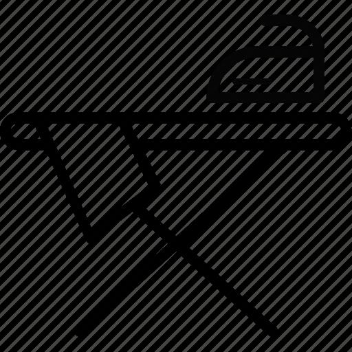 format, iron, press, tailor icon