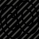 empty spool, sew, sewing thread, thread, thread spool icon