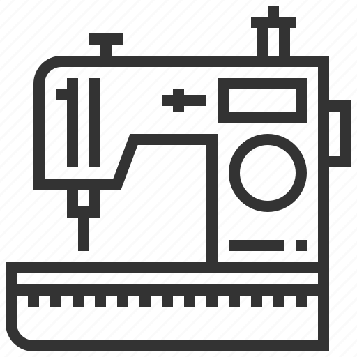 equipment, machine, sewing, tool, work icon