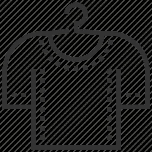 design, equipment, sewing, shirt icon