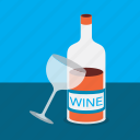 alcohol, date, dine, party, wine icon