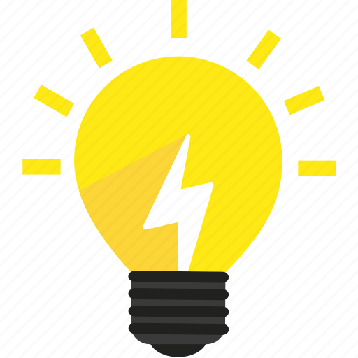 bright, bulb, creative, energy, idea, lamp, light icon