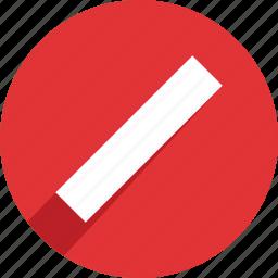 alert, danger, error, not allowed, stop, warning icon