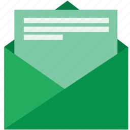 email, envelope, letter, mail, message, newsletter, subscribtion icon
