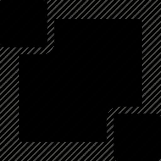 decor, editing, pattern, rectangle, shape, square icon
