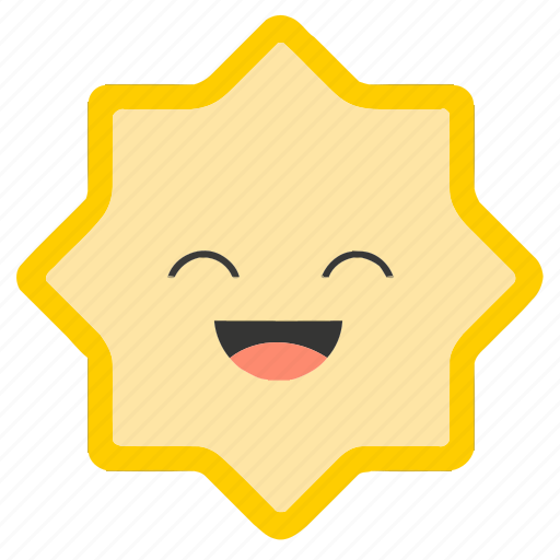 Emoji, emoticons, face, happy, shapes, smiley, star icon - Download on Iconfinder