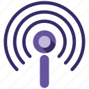 broadcast, send, share icon