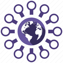 connection, send, share, world icon