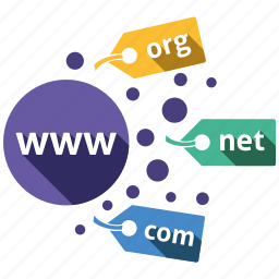 domain, send, services, share icon