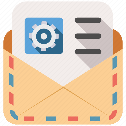 mail, send, settings, share icon