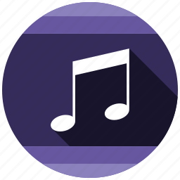 music, send, share icon