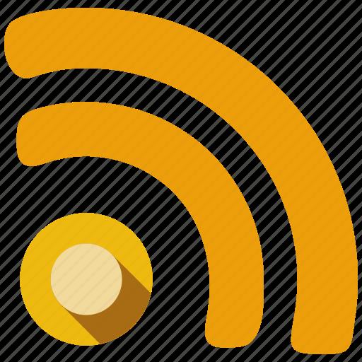 rss, send, server, share, web, web page icon